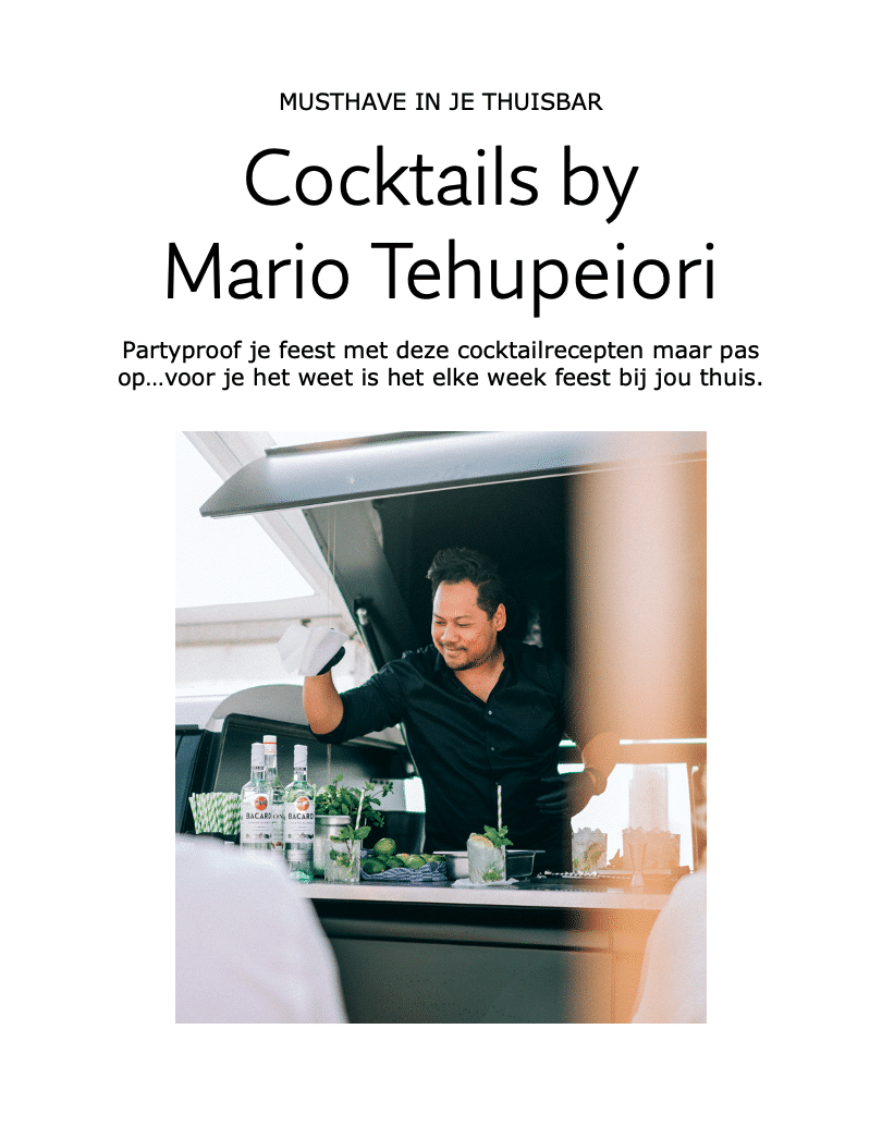 cocktail ebook