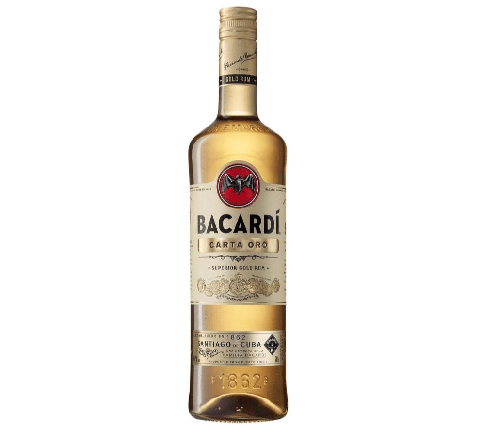 Bacardi Carta Oro Rum - 70 cl