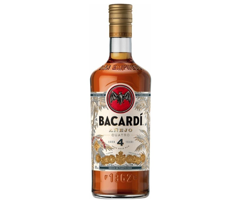 Bacardi - Anejo Cuatro, 4 Y