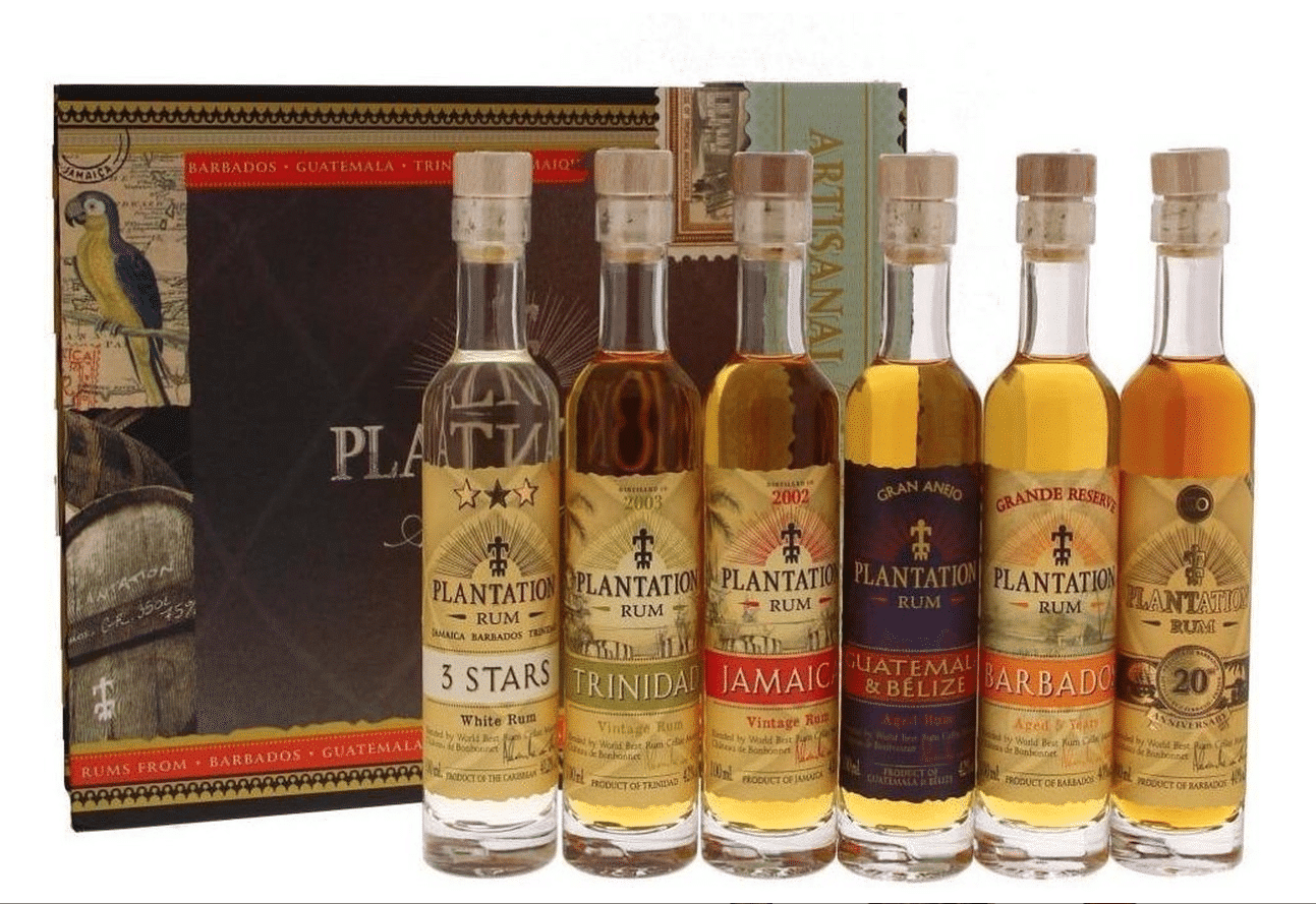 Plantation Rum Experience Giftpack 6 x 10 cl