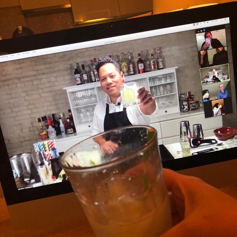 online cocktail workshop proost